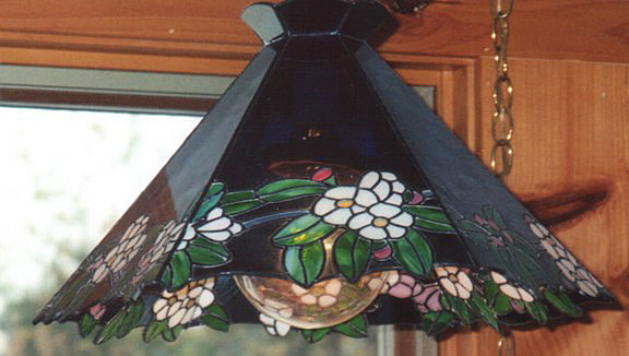 apple blossom lamp